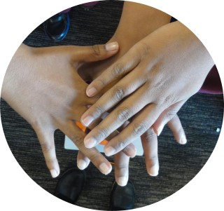 our chns hands